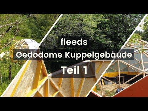 Geodome auf dem Biohof Albisboden im Toggenburg Schweiz / fleeds Geodome Kuppelbau #01
