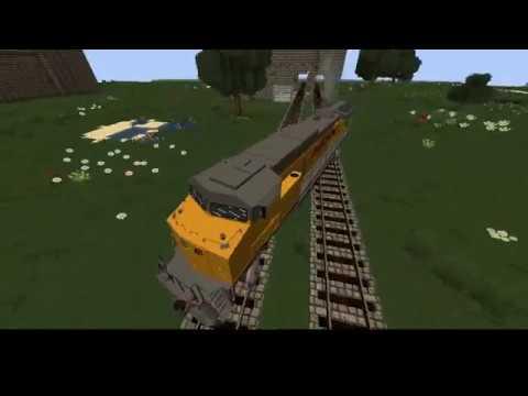 Minecraft Immersive Railroading Mod - Deja Vu Train