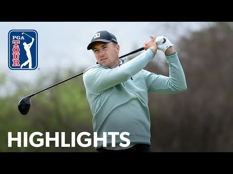 Jordan Spieth shoots 2-under 70 | Round 2 | Valero Texas Open | 2021