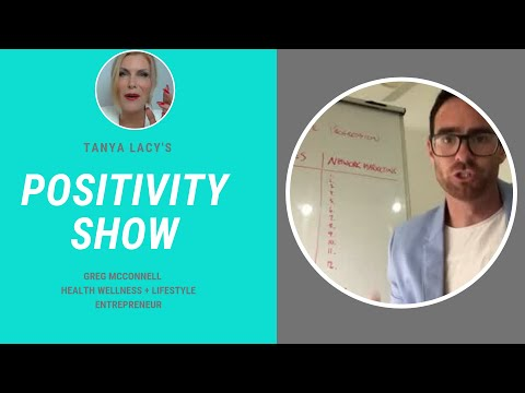 Positivity Show Tanya Lacy Chats with Greg Mc Connell