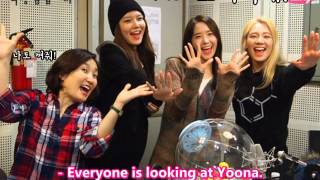 Date at 2 o'clock This is Park Kyunglim - Hyoyeon, Sooyoung, Yoona [2014.03.11] (en) 1/3