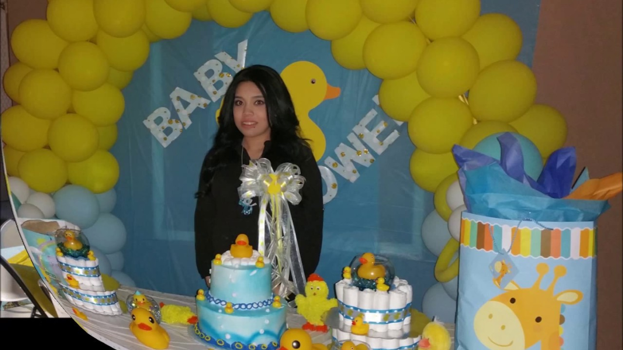Sister's Baby Shower Duck Theme/AzucenaFamilyVlogs