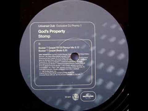God's Property - Stomp (Booker T Spiritual Mix) (1997)
