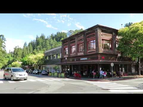 Downtown Mill Valley - California