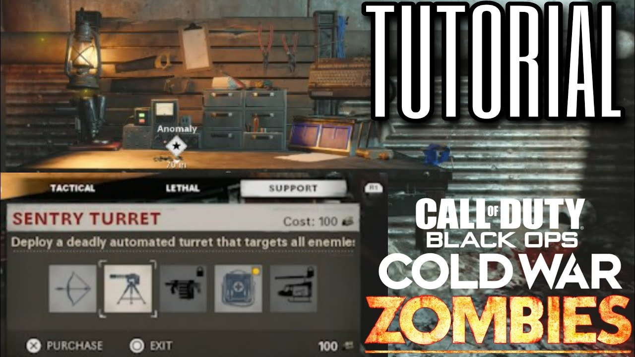 How To Use The Crafting Table Black Ops Cold War Zombies Guide Youtube