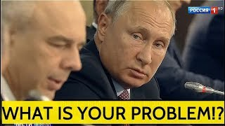 THE BOSS: Putin Roast Ministers On Russia