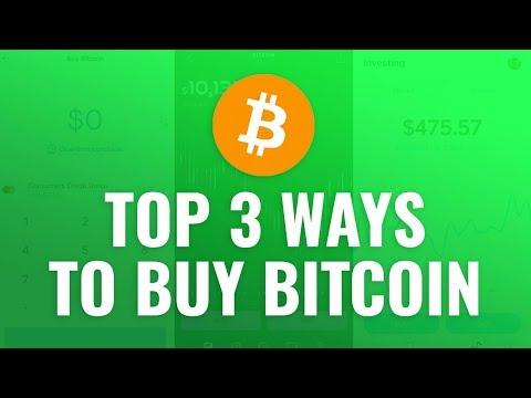 How To Buy Bitcoin - Top 3 Ways In 2020