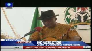 Obiano Rejects NASS Election Results In Anambra State