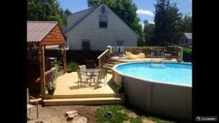 Бассейны  Бествей: надувные и каркасные, фото / Бассейн BestWay овальный и прямоугольный, видео