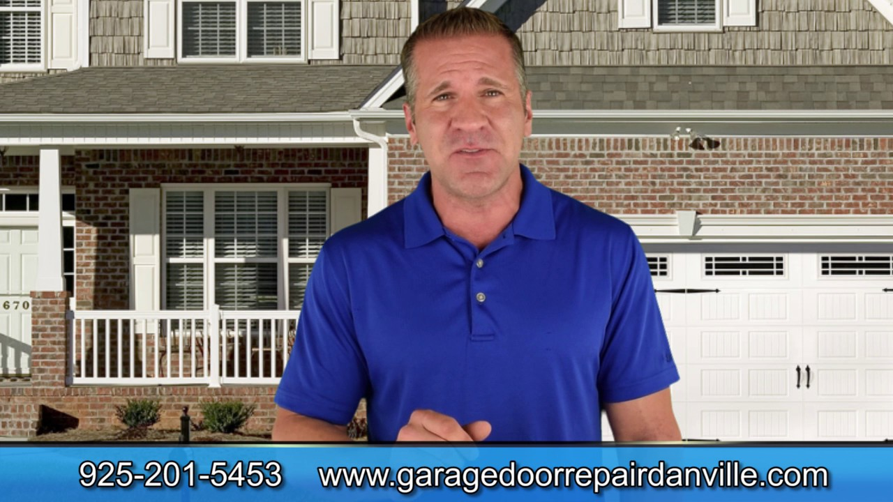Garage Door Repair Danville 925 201 5453 Same Day Service Youtube