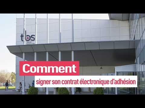 TBS Bachelor In Management  Comment signer son contrat électronique dadhésion ?