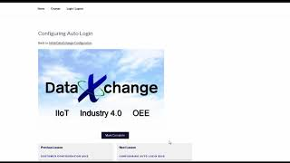 DataXchange E-Learning - How to Start CNC Data Collection