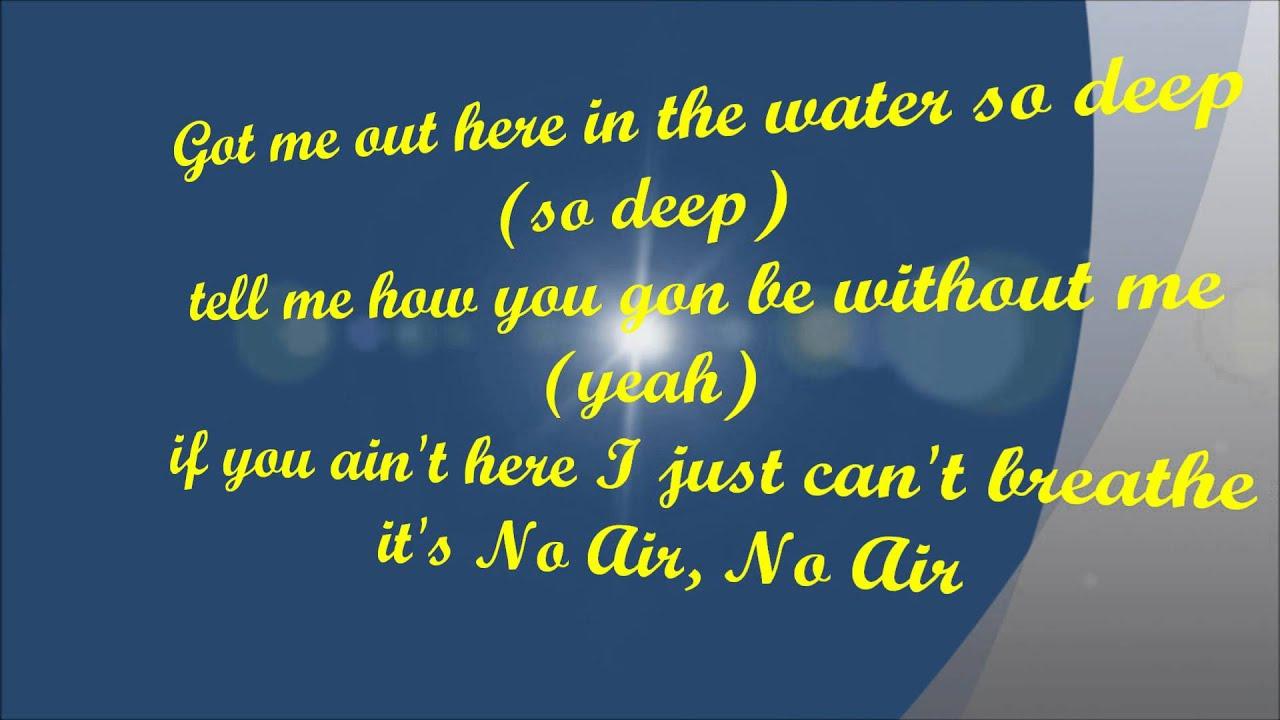 Caleb and Kelsey – No Air Lyrics | Genius Lyrics