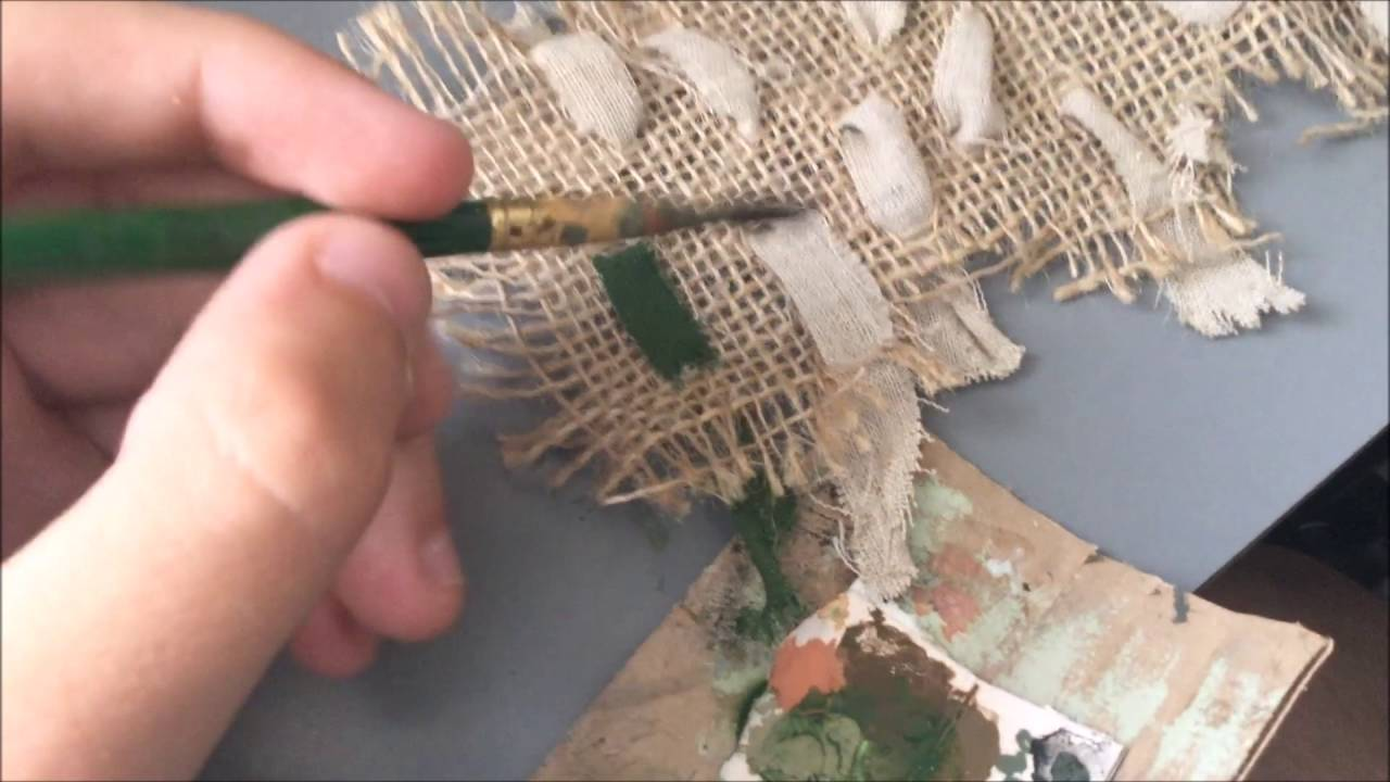 How to make a camo net for RC Tanks  YouTube