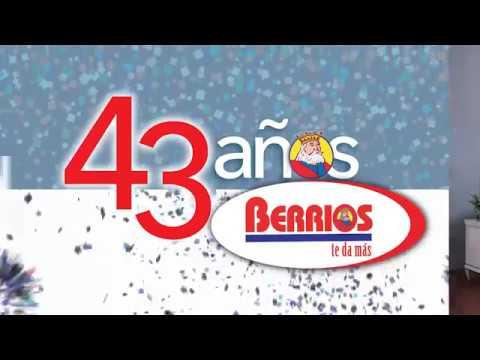 Mueblerias Berrios | 43 Aniversario