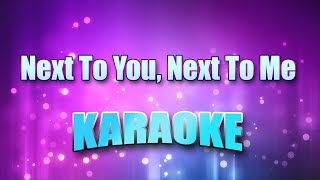 Shenandoah - Next To You, Next To Me (Karaoke & Lyrics)