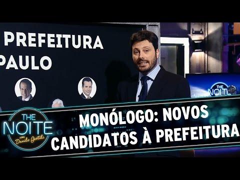 The Noite (04/09/15) - Monólogo: Novos Candidatos à Prefeitura De SP Pelo The Noite