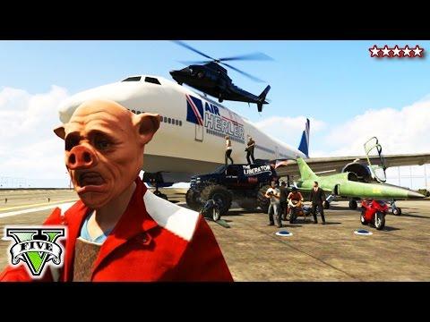 GTA 5 PIGGY HUNT Sandbox | GTA Online Mini-Games