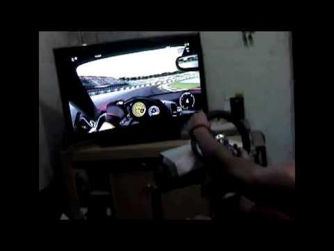 Forza Motorsport 3 com volante microsoft xbox360 pt01
