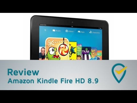 Amazon KIndle Fire HD 8.9 Kurztest (deutsch | 1080p)