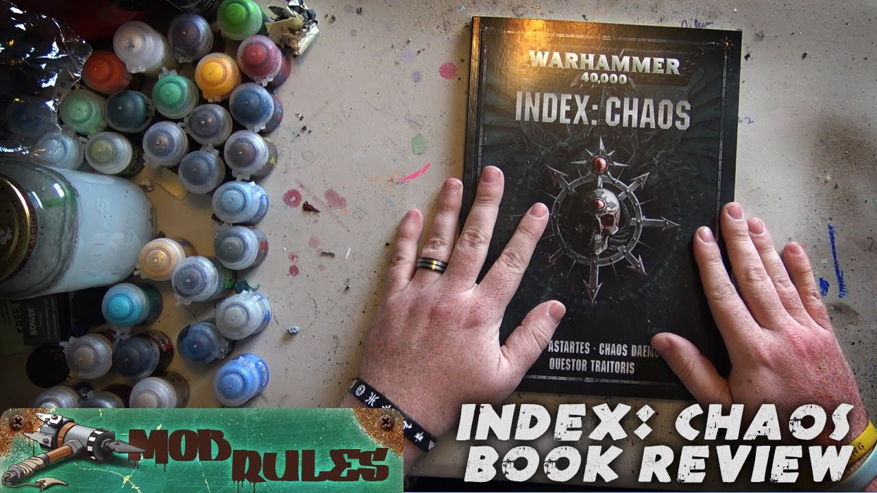 Book review: 8th edition Index Chaos for Warhammer 40k