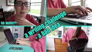 keep or give up challenge THE REDUX // a writing vlog