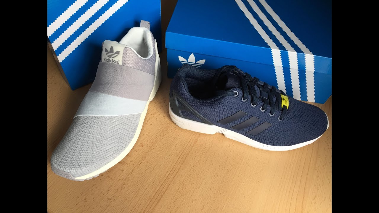 Adidas Zx Flux Slip On Blue