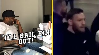 50 Cent Bails Conor McGregor Out Of Jail After Bus Attack!