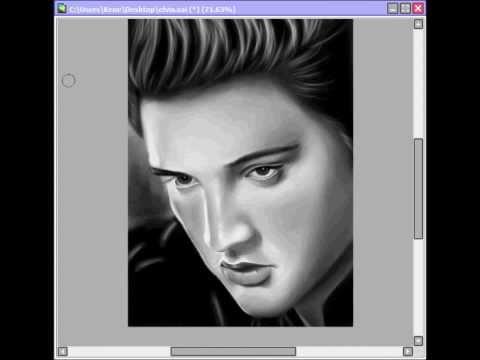 Speed Portrait : Elvis Presley