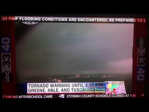 Tuscaloosa Tornado caught on TowerCam 4/15/11