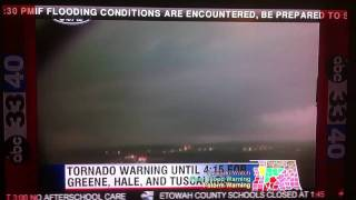 Tuscaloosa Tornado caught on TowerCam 4/15/11 thumbnail