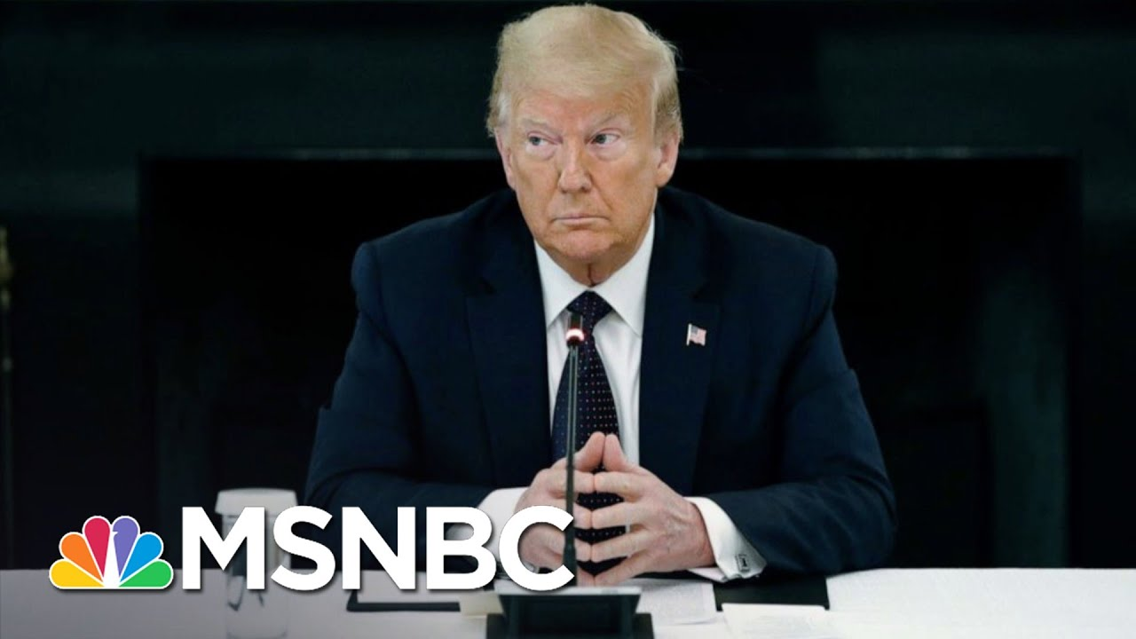 Trump Drops In Polls As Protests Hit 14th Day After George Floyd's Death | The 11th Hour | MSNB