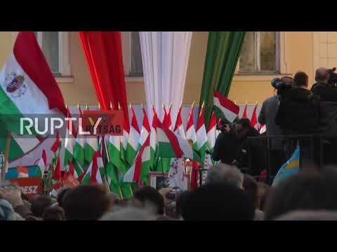 Hungary: Orban's Fidesz party holds final rally before Sunday's elections