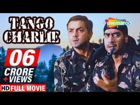 Tango Charlie HD Hindi Full Movie   Ajay Devgn  Bobby Deol  Sanjay Dutt  With Eng Subtitles