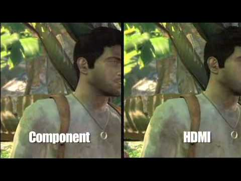Uncharted Drake S Fortune Component Vs Hdmi Comparison