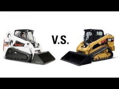 Сравнение мини погрузчиков Bobcat, Caterpillar, Case, JCB
