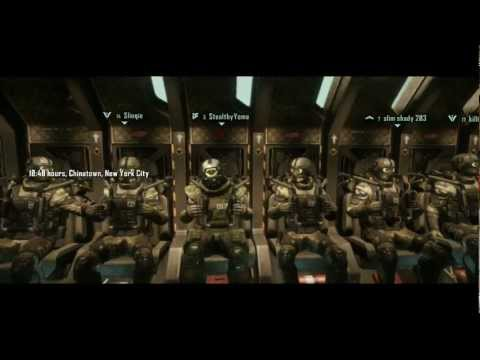 Crysis 3 - (Hunter Mode) Online Multiplayer Gameplay China Town 1080p