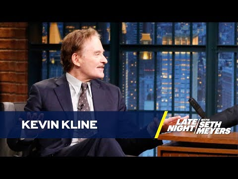 Kevin Kline Had a Curtain Mishap During an Intimate Broadway