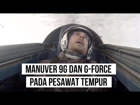 Manuver 9G dan G-Force Pada Pesawat Tempur