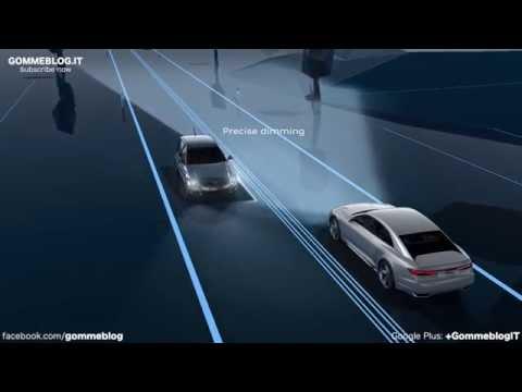 Audi Matrix Laser Lights Animation