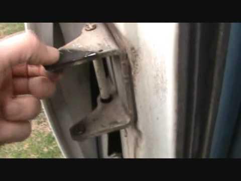 1988 Chevy Door Pin Replacement Youtube