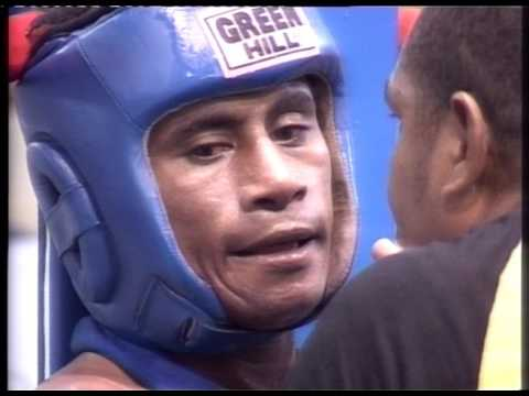 South Pacific Games 2007 Boxing Welterweight U69kg PNG vs Samoa  SF