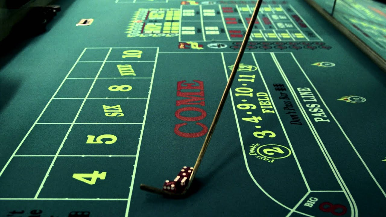 craps table casino
