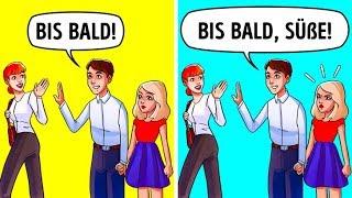 10 Arten von Frauen, die Männer niemals heiraten würden