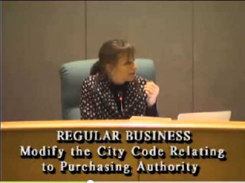 MENLO PARK COUNCIL 1 27 2015 Discussion on hiring consultants policy