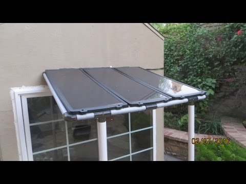 DIY Playhouse Powered by Solar Panel