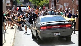 Man Drives Car Into Group Of Charlottesville Protesters.