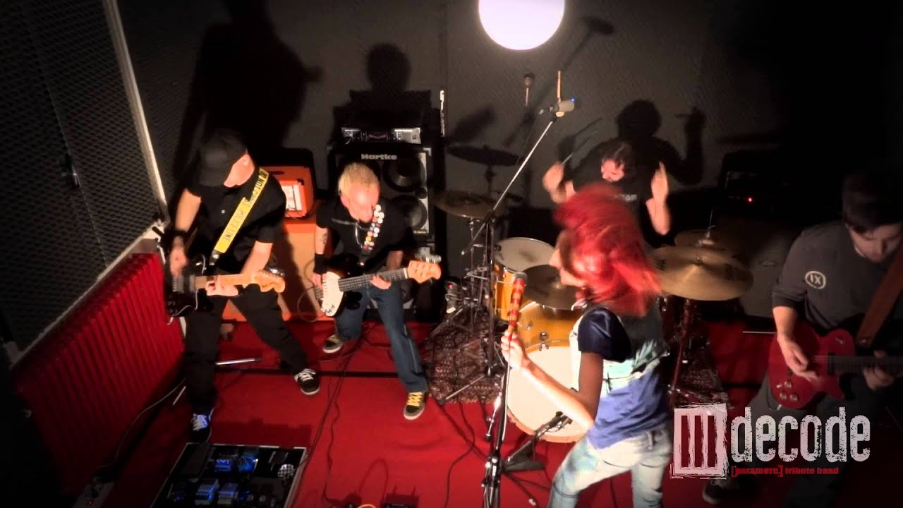 Decode (Paramore Tribute Band) - Decode # Live In Studio ...