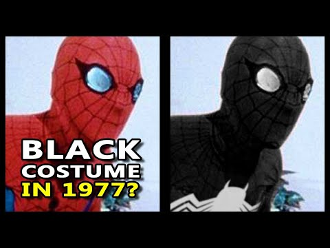 Spider-Man Black in 1977?! John Romita on TV Series & Alien Costume, Spidey Super Stories Comic Book