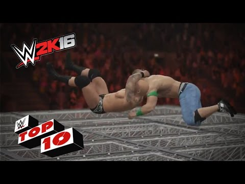 Thumbnail: RKOs From Outta Nowhere!: WWE 2K16 Top 10
